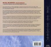 Un élu, un artiste ; mission repérage(s) - 4ème de couverture - Format classique