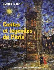 Contes et légendes de paris - Couverture - Format classique