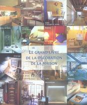 Grand livre de la decoration de la - Intérieur - Format classique