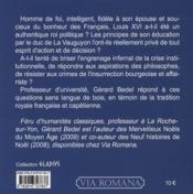 Louis XVI, ou la tragédie de la vertu - 4ème de couverture - Format classique