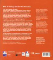 Atlas Du Tramway Dans Les Villes Francaises - 4ème de couverture - Format classique