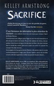 Femmes de l'Autremonde T.7 ; sacrifice - 4ème de couverture - Format classique