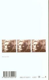 Poemes - 4ème de couverture - Format classique