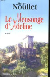 Le Mensonge D'Adeline - Couverture - Format classique