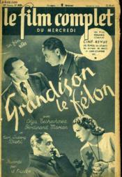 Le Film Complet Du Mercredi N° 2535- 20e Annee - Grandison Le Felon - Couverture - Format classique