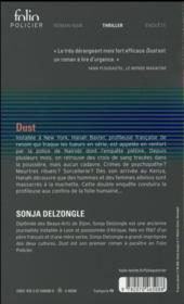Dust - 4ème de couverture - Format classique