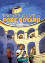 Escape game à Fort Boyard - Couverture - Format classique
