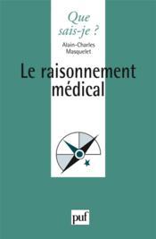 Le raisonnement medical - Couverture - Format classique
