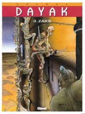 Dayak t.3 ; zacks - Couverture - Format classique
