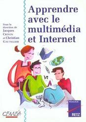Apprendre Avec Le Multimedia Et Internet - Intérieur - Format classique