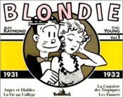 Blondie ; 1931-1932 - Couverture - Format classique