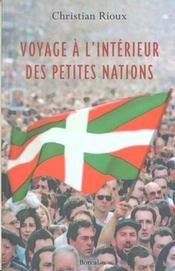 Voyage A L'Interieur Des Petites Nations - Intérieur - Format classique