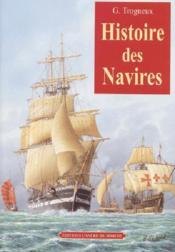 Histoire des navires - Couverture - Format classique