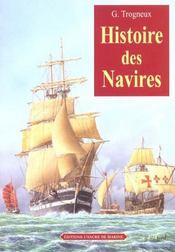 Histoire des navires - Intérieur - Format classique