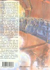 Abzalon 1 - 4ème de couverture - Format classique