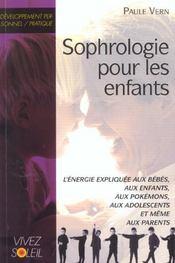 Sophrologie pour les enfants - Intérieur - Format classique