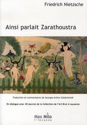 Ainsi parlait Zarathoustra ; en dialogue avec 40 oeuvres de la collection de l'Art brut à Lausanne - Intérieur - Format classique