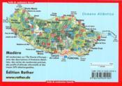 Madère ; les plus belles randonnées de levada et de montagne - 4ème de couverture - Format classique