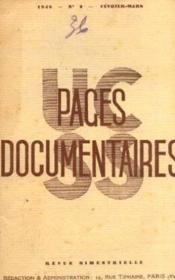 Pages documentaires n°3, février mars - Couverture - Format classique