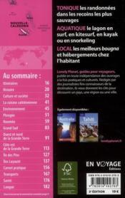 Nouvelle-Calédonie (3e édition) - 4ème de couverture - Format classique