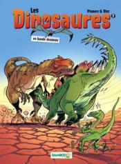 Les dinosaures en BD t.2 - Couverture - Format classique