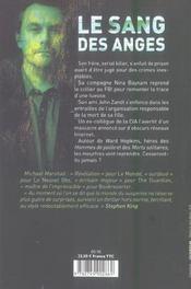 Le Sang Des Anges ; Il Y A Un Tueur En Chacun De Nous - 4ème de couverture - Format classique