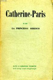 Catherine - Paris. - Couverture - Format classique