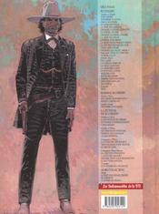 Blueberry t.6 ; l'homme au poing d'acier - 4ème de couverture - Format classique