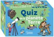 Quiz de la planète Terre - Couverture - Format classique