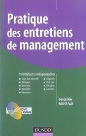 Pratique des entretiens de management - Intérieur - Format classique