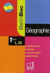 Géographie ; terminale l, es - Intérieur - Format classique