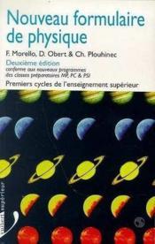 Nouveau Formulaire De Physique - Couverture - Format classique