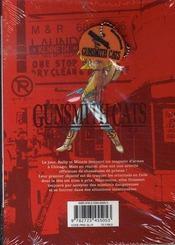 Gunsmith cats burst t.1 - 4ème de couverture - Format classique