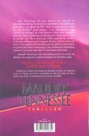 Maudit tennessee - 4ème de couverture - Format classique