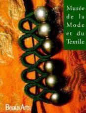 Musee De La Mode Et Du Textile (Francais) - Couverture - Format classique