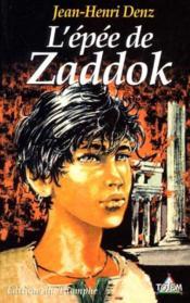 L'Epee De Zaddok - Couverture - Format classique
