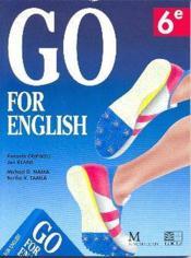 Go for english 6e (afrique centrale) - Couverture - Format classique