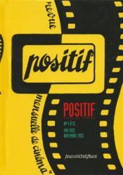 Positif 1 a 15 : 1952-1955 - Couverture - Format classique