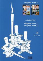 Les Krostons ; intégrale t.3 - 4ème de couverture - Format classique