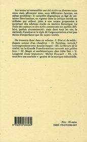 D'or et de sable ; interventions éparses sur la critique sociale et l'interprétation de l'histoire, agrémentées d'observations sur l'art de lire et sur d'autres matières, tant curieuses qu'utiles - 4ème de couverture - Format classique