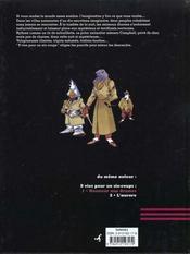 9 Vies Pour Un Six Coups - Tome1 - Honneur Aux Drames - 4ème de couverture - Format classique