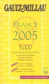 Guide Gault Millau France - Intérieur - Format classique