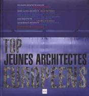 Top jeunes architectes europeens - Couverture - Format classique