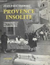Provence Insolite. - Couverture - Format classique