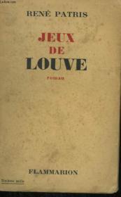 Jeux De Louve. - Couverture - Format classique