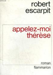 Appelez-Moi Therese. - Couverture - Format classique
