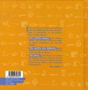 La cuisine (très) facile ; recettes pour débutants et maladroits - 4ème de couverture - Format classique