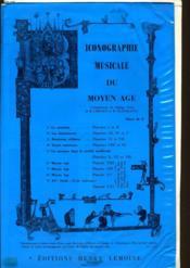 Iconographie Musicale Du Moyen Age - Couverture - Format classique