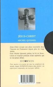 Jesus-Christ - 4ème de couverture - Format classique