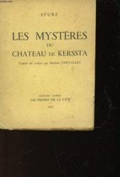 Les Mysteres Du Chateau De Kerssta - Couverture - Format classique